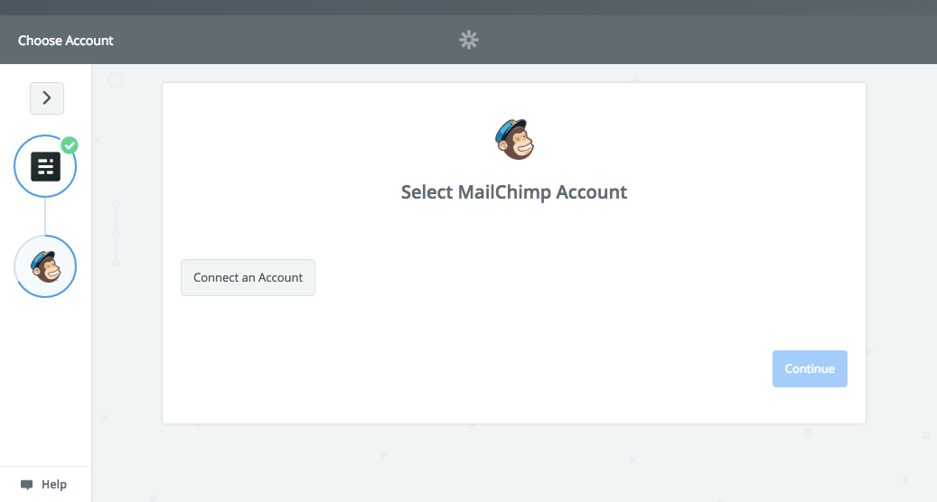 Connecting Zapier with Mailchimp